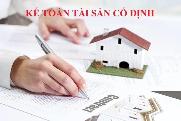 Kế toán tài sản cố định