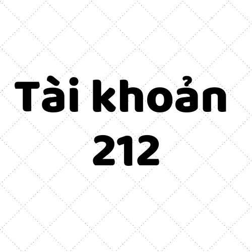 Tài khoản 212