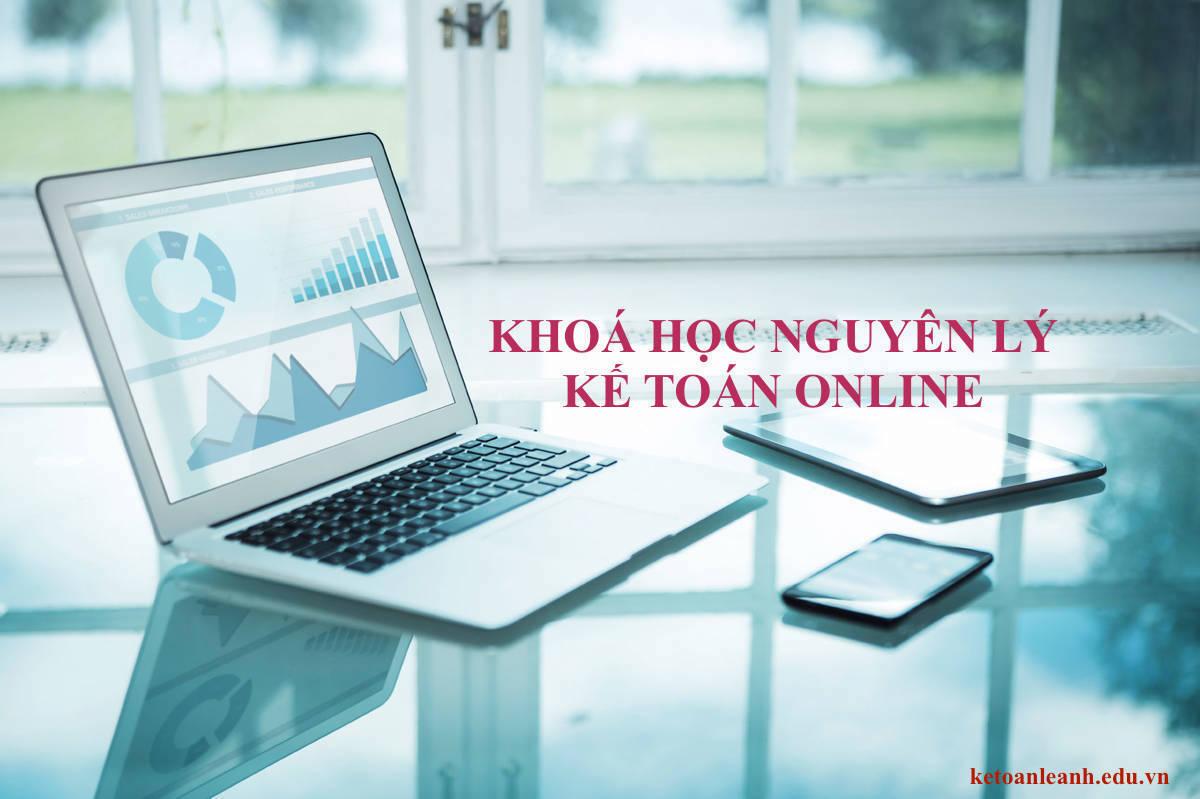 khoá học nguyên lý kế toán online
